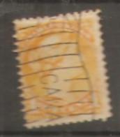 Canada  1870  SG  73  1c  Orange Yellow  Fine Used - Oblitérés