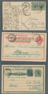 Brasilien - Stempel: 1908-1920, Partie Von 3 Belegen Mit Stempeln Die Auf Deutsche Einwanderer Hinwe - Briefe U. Dokumente