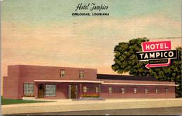 Louisiana Opalousas Hotel Tampico 1953 - Other