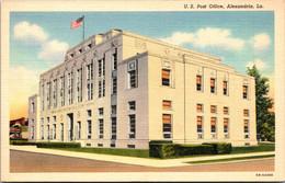 Louisiana Alexandria Post Office Curteich - Other