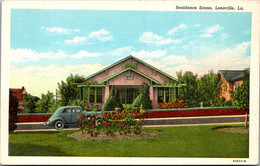 Louisiana Leesville Residence Section Curteich - Other