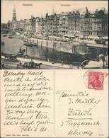 Ansichtskarte Hamburg Dovenfleet - Kutsche 1920 - Sin Clasificación