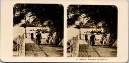 6590 - Kroatien - Abbazia , Opatija , Promenade Am Südstrand V. 1911/12 - - Lieux