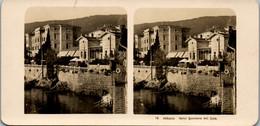 6600 - Kroatien - Abbazia , Opatija , Hotel Quarnero Mit Cafè V. 1911/12 - - Lieux