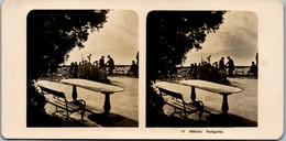 6629 - Kroatien - Abbazia , Opatija , Parkpartie V. 1911/12 - - Lieux