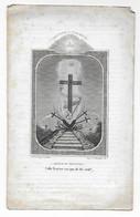 Priester/Professor, Josephus-Michael Chedeville, Overleden Mechelen 1847 (secretaris Aertsbisdom Mechelen, Prof Breda) - Overlijden