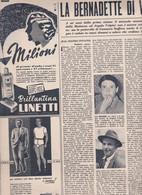 (pagine-pages)ANGELA VOLPINI Di CASANOVA STAFFORA    Tempo1953/25. - Other