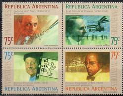 Argentinia, 1994, MI 2219-2222, Inventors, Block Of 4, MNH - Neufs