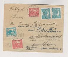 CZECHOSLOVAKIA Nice Cover To Austria HRADCANY - Cartas