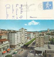 """AK  """"La Chaux-de-Fonds - Avenue Léopold Robert""""  (Flagge: Braderie - Fête De La Montre)        1965 - Briefe U. Dokumente"""
