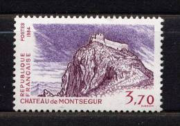 N° 2335** - CHÂTEAU DE MONTSEGUR - Unused Stamps