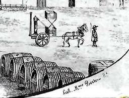 1848 SUPERBE ENTETE PONT DE BORDES  Par Lavardac Lot Et Garonne Alambic Bouilleur De Cru => PITARD ROUEN  VOIR SCANS - 1800 – 1899