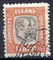 ISLANDE (Dépendance Danoise) - 1907-08 - Service - N° 26 - 5 A. Orange - (Frédéric VIII Et Christian IX) - Unclassified