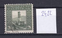 Österreich - Bosnien - 1906 - Michel Nr. 43 Coleman 2422 Mit 1x 10 1/2 - Gestempelt - 100 Euro - Usados