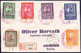 JUGOSLAVIA - VIDOVDAN - POKRAJINSKI SLET SOKOLA OSIJEK - 1921 - RARE - Briefe U. Dokumente