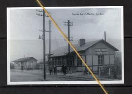 PHOTO VOEREN FOURONS LIMBURG LIMBOURG GARE STATION STATIE BAHNHOF REPRO - Fourons - Voeren