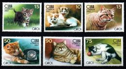 2007 ** YT 4446-51 BF 224, GATOS DOMÉSTICOS. DOMESTIC CATS - Sin Clasificación