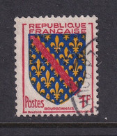Perforé/perfin/lochung France 1954 No 1002 C-A Chambre Syndicale Des Agents De Change - Perfins