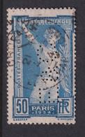Perforé/perfin/lochung France No 186 E&C Louis Eschenauer - Perforadas