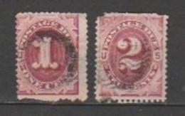 USA - Scott # J15-16 - Portomarken