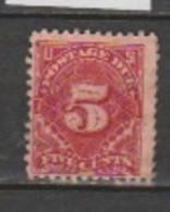 USA - Scott # J 34 - Portomarken