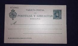 España 1903 Entero Postal Nº 43** -5 Céntimos Alfonso XIII Tipo Cadete - 1850-1931