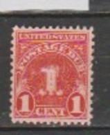USA - Scott # J 70-MNH - Portomarken