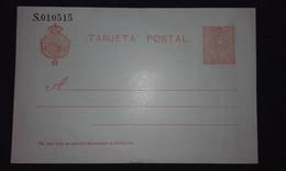 España 1910-21 Entero Postal Nº 49** -10 Céntimos Alfonso XIII Tipo Medallón - 1850-1931