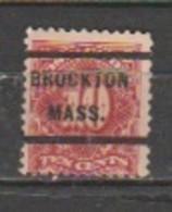 USA - Scott # J 35- Unused,Precancel. - Portomarken