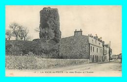 A921 / 111 50 - LA HAYE DU PUITS Le Vieux Donjon Et L'Avenue - Ohne Zuordnung