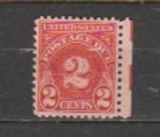 USA - Scott # J 71 Unused. - Portomarken