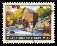 Etats-Unis / United States (Scott No.4927 - Glade Creek Grist Mill) (o) TB / VF - Usados