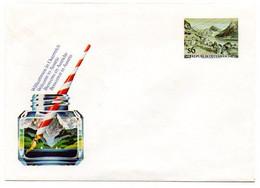 Autriche / Enveloppe Philatélique :  Entier Postal Bienvenue En Autriche (encrier Et Porte-plume). - 1991-00 Cartas