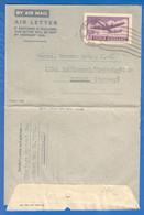 Indien; Brief Air Letter, 1952, Von Himalaya Optical Calcutta Nach Goldkronach Germany; Ordinary Mail - Cartas