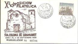 MATASELLOS 1968 SANTA COLOMA DE GRAMANET - 1961-70 Cartas
