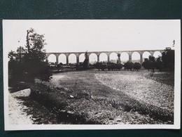 36 ,le Blanc, Le Viaduc , Vue Générale En 1945......scan Recto  Verso - Le Blanc