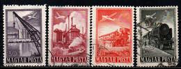 UNGHERIA - 1950 - IMMAGINI DELL'UNGHERIA - USATI - Gebraucht