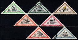 UNGHERIA - 1952 - SERIE UCCELLI - BIRDS - USATI - Gebraucht
