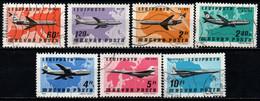 UNGHERIA - 1977 - AVIAZIONE COMMERCIALE - USATI - Gebraucht