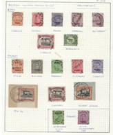 Lot EMISSIE 1915 (17 Zegels) Met ZELDZAME Stempels Zoals 2 X AMBULANT , Staat Zie Scan  ! LOT 223 - [OC55/105] Eupen/Malmedy