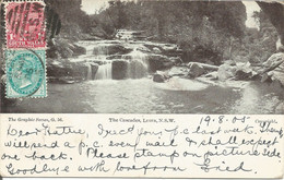 002177 - AUSTRALIA - NSW - LEURA - THE CASCADES - TRAVELLED TO THE USA 1905 - Other