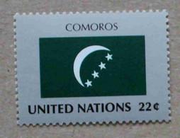 Ny87-01 : Nations-Unies (N-Y) / Drapeau Des Etats Membres De L'ONU - Comores - Neufs