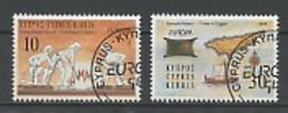 Europa CEPT 1994 Chypre - Zypern - Cyprus Y&T N°821 à 822 - Michel N°819 à 820 (o) - 1994