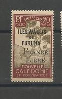 29 Timbre Taxe Surchargé France Libre Luxe Sans Ch                  (clasyverouge22) - Postage Due