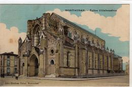 Montauban Eglise Villebourbon - Montauban