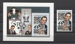 Mali Chess Kasparov Ajedrez Schach Echecs 1995 S/s + 1v MNH - Schach