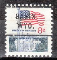USA Precancel Vorausentwertung Preo, Locals Wyoming, Basin 712 - Voorafgestempeld