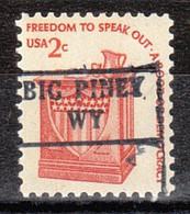 USA Precancel Vorausentwertung Preo, Locals Wyoming, Big Piney 882 - Voorafgestempeld