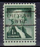 USA Precancel Vorausentwertung Preo, Locals Wyoming, Cheyenne 812 - Voorafgestempeld