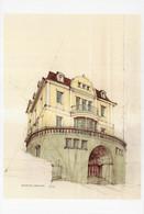 Hozenzolleernstrasse Stuttgart Germany Painting Postcard - Zonder Classificatie